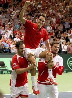 Coupe Davis: Roger Federer s'exprime sur la finale - http://www.actusports.fr/118207/coupe-davis-roger-federer-sexprime-finale/