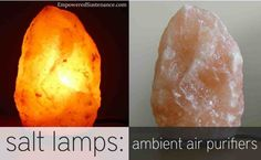 How salt lamps are natural air purifiers and may relieve allergies.