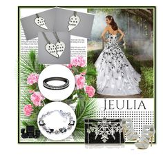 """""""jeulia"""" by car69 ❤ liked on Polyvore featuring Judith Leiber, Celeste, women's clothing, women's fashion, women, female, woman, misses, juniors and jewelry"""