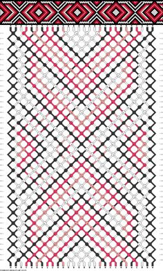 28 strings, 4 colors, 44 rows