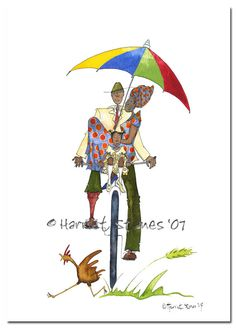 Print Sunday Best Bicycle Series A4 8 x 11 by harrietstanes