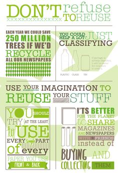 Recycling Campaign Poster: This poster as a variety of sayings and facts about the importance of recycling.  I will use this poster as a source of inspiration to my students when they are learning about campaigning.