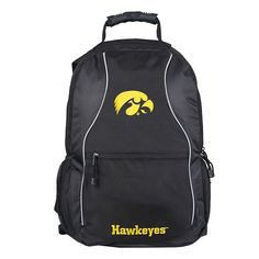 Iowa Hawkeyes Phenom Backpack, Black