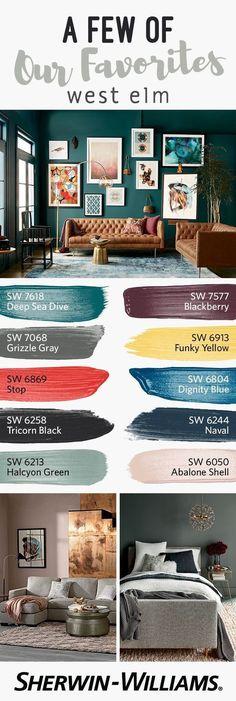 colores para salones 2018 (13)   Decoracion de interiores Fachadas para casas como Organizar la casa #fachadasdecasas