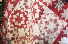 Prairie Point Quilts, Shawnee, Kansas, via Barbara Brackman's Material Culture blog