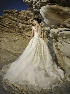 Bridal, evening and ball gowns made of exquisite fabrics and fine handwork will highlight your delicate, natural beauty and individuality on your unique Bridal Dresses, Flower Girl Dresses, Bridal Style, Lace Detail, One Shoulder Wedding Dress, Ball Gowns, Feminine, Bride, Beauty