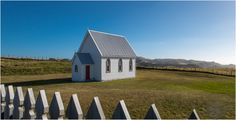 Just off the side of a quiet rural road overlooking the wild West Coast, this little colonial church has some great views... www.kirkvogel.com