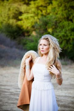 Boho Bride Styled Portraits by Apple Rose Photography   Two Bright Lights