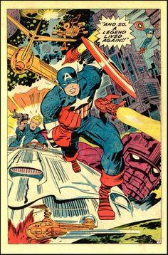 Captain America - Jack Kirby