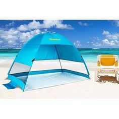 Beach Tent Sun Shelter Outdoor Pop Up Anti UV Easyup Shade for Summer Camping Survival Tent, Beach Tent, Popup, Tents, Outdoor Gear, Shades, Camping, Sun, Summer