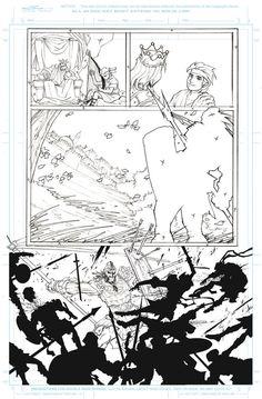 David Y Goliath page 7 by Sandoval-Art