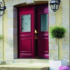 Inspiration porte d'entrée élégante. Porte en alu de chez K-LINE #porte #design #maison  #renovation #travaux #inspiration #elegance #architecture #kline_france