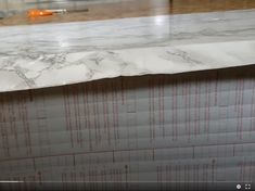 Contact Paper Countertops Full Tutorial And Review - The Nifty Nester Cheap Kitchen Countertops, Diy Wood Countertops, Counter Edges, Counter Top, Contact Paper, Home Repair, Round Corner, Diy Kitchen, Nifty