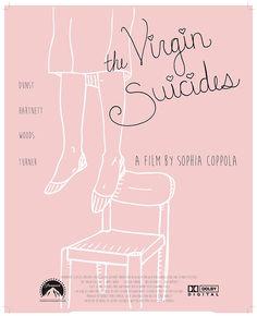 The Virgin Suicides (1999) ~ Minimal Movie Poster by Derek St. Mary-Tryon #amusementphile