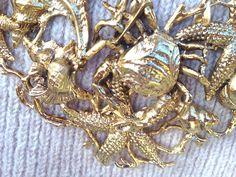 #bijoux #necklace #seaside #girl #fashionblog #fashionblogger #style #jewelry #rings #stones #cuffs #earrings #gold #inspiration #oots  #outfit  #collana #mare #fondali #ramage #gioielli #gioielleria #moda #stellemarine #coinchglie #granchi collana dorata ispirata ai Fondali stelle marini, conchiglie ,bracciale ramage, maxi anello  orecchini pietre Flo' New Age, bijoux ispirati ...