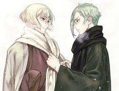 Aniki, it's cold. Wear a scarf at least! Unless you want to freeze to death, then be my guest. #becausetsundere