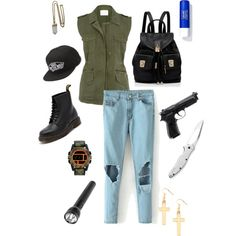 The walking dead outfit