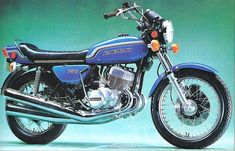 Kawasaki H2 750 Mach IV -if the H1 didn't kill you, there's this...