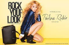 Rock your look with Paulina Rubio for JustFab styles.