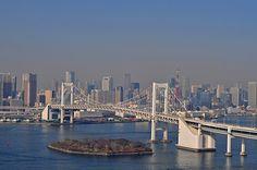 Tokyo. Rainbow bridge