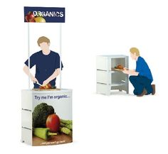 Instore Promo Units Outdoor Banners, Trade Show, Promotion, The Unit, Display, Floor Space, Billboard