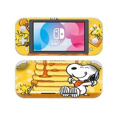 Snoopy Nintendo switch lite Skin | switch lite decal | Console skins world