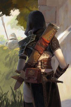 Sketch01-Assassin by 6kart