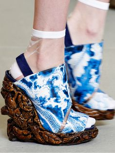 Nicholas Kirkwood for Rodarte Spring/Summer 2011- these are something REAL special!