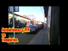 #Michoacán.  Enfrentamiento, PFP y #Autodefensas vs Templarios.