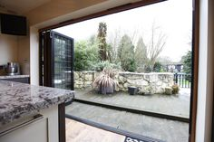 For a modern alternative to French doors we can offer Bifold doors that bring your garden into your home http://www.ifosterwindows.co.uk/french-and-bi-fold-doors/info_20.html