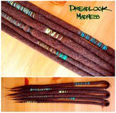 #dreads #dreadlocks #wool #roving #ozora #burning #man #hippie #boho