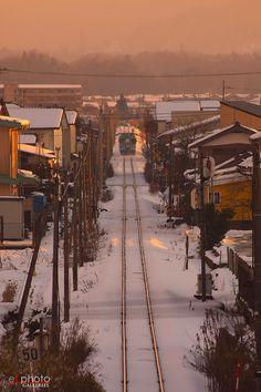 北近畿タンゴ鉄道  <雪の攻防10>  ・峰山-丹後大宮・撮影:2013.01.27