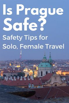 Is Prague Safe for Solo Travellers? A Canadian expat shares her thoughts and tips for solo female travelers in Prague. Travel Images, Travel Pictures, Travel Photos, Travel Articles, Places To Travel, Travel Destinations, Travel Things, Prague Travel Guide, Single Travel