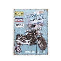 Placa Decorativa em Madeira - Rota 66 - Machine Cult | A loja das camisetas de carro e moto