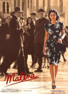 Malena  Tornatore Giuseppe. About a beautiful woman's married to another town, and how her sexuality & values are being perceived, portraited, challenged, exploited & targeted by both men & women. She is left unprotected; fend for herself,  while her husband is fighting in war  & with her father passing away.