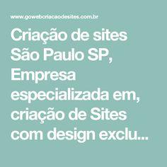 Criação de sites São Paulo SP, Empresa especializada em, criação de Sites com design exclusivo - Go Web criação de sites profissionais