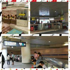 時間抓的剛剛好 困在捷運地下街中,不上不下 放眼望去,台北車站多了好多文青  原來一年一次的萬安演習 讓台北的閱讀氣氛濃郁了起來
