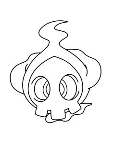 duskull pokemon coloring pages - photo#7