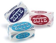 Zote soap & Its other uses. I use this soap to pre-treat my white towels to remove lipstick, makeup and mascara stains. My towels look bright-white and smell so good!