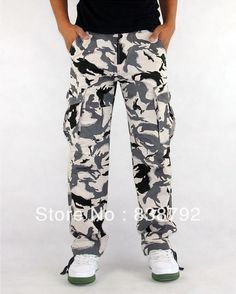 Cheap Casual Pants, Buy Directly from China Suppliers:Spring 2015 Casual Mens Cargo Tactical Pants High Quality Loose Cotton Thick Multi-pocket Man Outdoor Military Camouflag