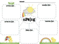 spring project for first grade - Google Search