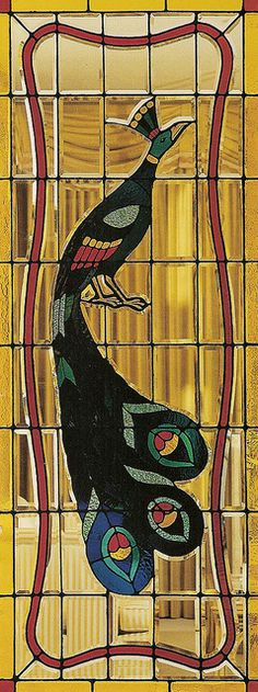 Peacock Stained Glass At Graceland Me Pinterest