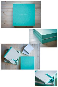 Chiara&Daniele - Cover: Cloud Leatherette White - Back and spine: Cloud Leatherette Bluish-Green - Design Box: Cloud Leatherette Bluish-Green (outside) and Cloud Leatherette White (inside) - Ribbon: Tiffany. Mini-sized album for parents as an exact copy of the wedding album. Album created by Graphistudio for Paolo Bernardotti Studio. Italian Luxury Brands, Wedding Albums, Box Design, Luxury Branding, Dreaming Of You, Tiffany, Our Wedding, Cloud, The Outsiders