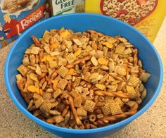 Best Chex Mix Ever - done in 15 minutes! - Sometimes Homemade