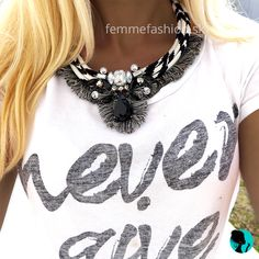 Indiana, Crochet Necklace, Jewelry, Jewlery, Jewerly, Schmuck, Jewels, Jewelery, Fine Jewelry