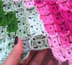 Luty Artes Crochet: Colcha mosaico de crochê