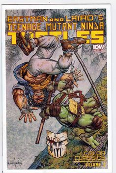 Teenage Mutant Ninja Turtles Color Classics #2 Kevin Eastman Story. Jim Lawson Pencils.