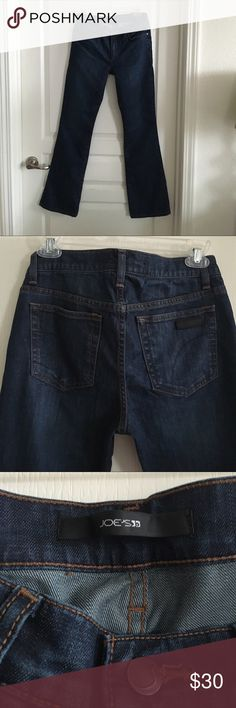 Joe's Jeans Provacateur Size 26 Dark boot cut jeans. Style is the Provacateur, which fits petites. Only worn a few times, so still in new condition. No trades or Paypal. Joe's Jeans Jeans Boot Cut