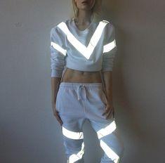 Misbhv x 3M Reflective Sweatsuit http://spoiledbroke.com/2014/01/07/new-misbhv-x-3m-reflective-sweatsuit/