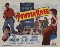 Powder River 1953 TITLE CARD